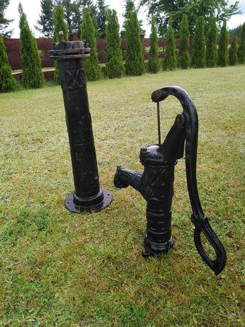 Pompa Abisynka z podstawa czarna