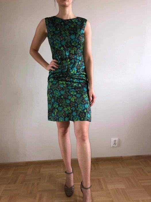 sukienka, lata 50, lata60, vintage Wolin - image 1