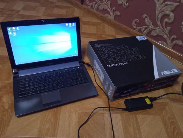 Asus n53sm. проц І5-2450M, відюха GT630M 2gb, опер 12gb ddr3. SSD+HDD