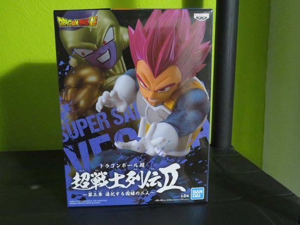 Figura Dragon ball Super Saiyan God Vegeta Banpresto Novo e Selado