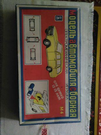 Зборная модель. Автомобиль.