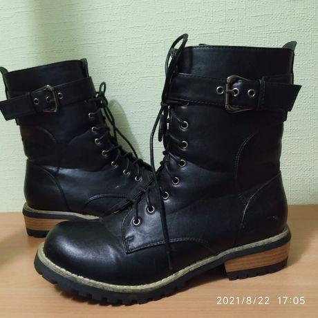 Деми ботинки, берцы стелька 24 см