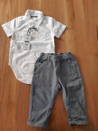 body koszulowe+spodnie
