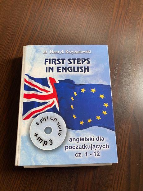 First Steps In English cz I. Intensywny kurs j. ang dla początkujących
