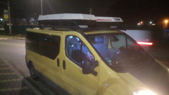 Багажник на крышу микроавтобуса, минивена