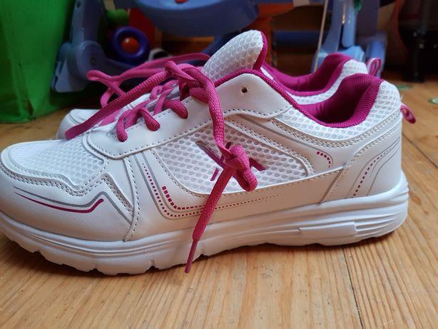 Buty sportowe adidasy 41 damskie białe różowe
