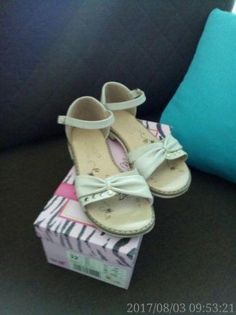 Sandałki roz.32 dla dziewczynki