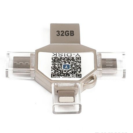Флэш-накопитель 4 в 1. Самые популярные USB разьемами
