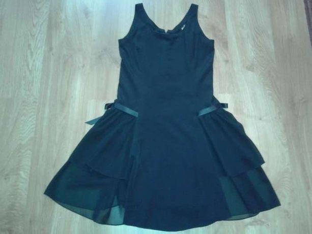 Elegancka czarna sukienka Roz. 36