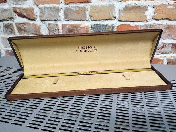Etui Seiko LASSALE oryginalne! Made in Japan! Lata 70-80!