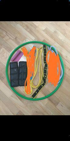 Предмети гімнастика резина  скакалка