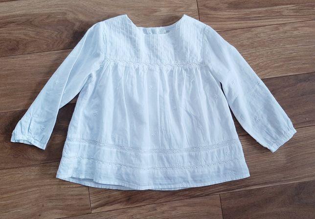 Nowa koszula Zara 98 boho biala