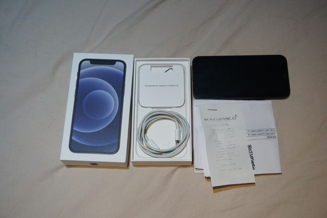 Iphone 12 mini 64GB Desbloqueado - Preto