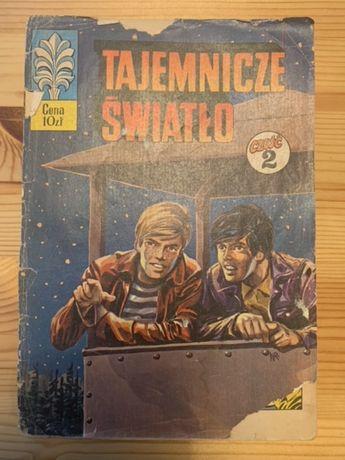Kapitan Żbik Tajemnicze Światło cz 2 wydanie I rok 1977