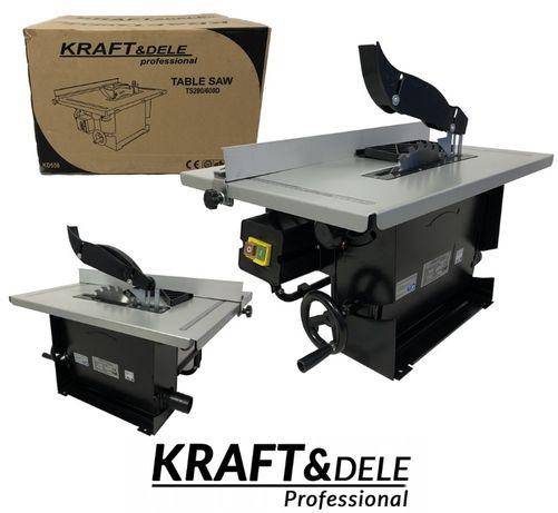 KRAFT&DELE piła pilarka stołowa KRAJZEGA DREWNA 1200W 200MM
