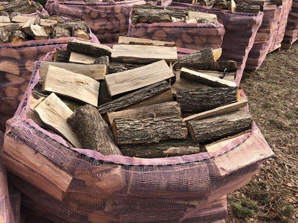 Drewno KOMINKOWE, opałowe, DĄB
