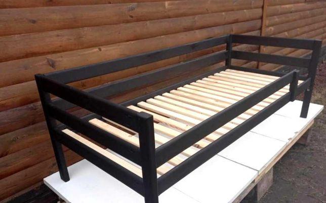 Ліжяко дитяче Лаура 160х80см з масиву дерева.Для дітей меблі.