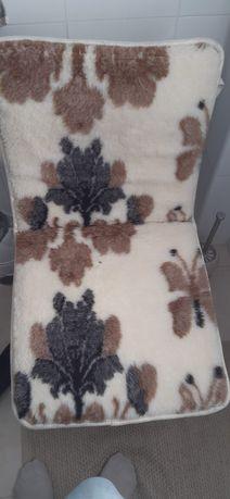 Capa de banco de carro de lã
