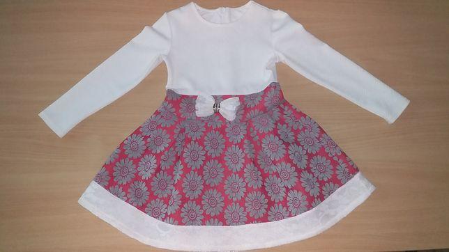 Платье нарядное р-р 104-110