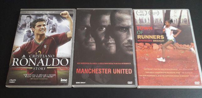 Cristiano Ronaldo Story, Manchester United, Miasteczko Biegaczy DVD
