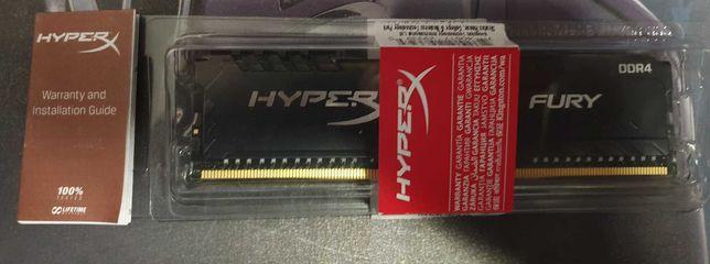 Pamięć RAM Kingston HyperX Fury Black DDR4, 2666MHz 8GB CL16