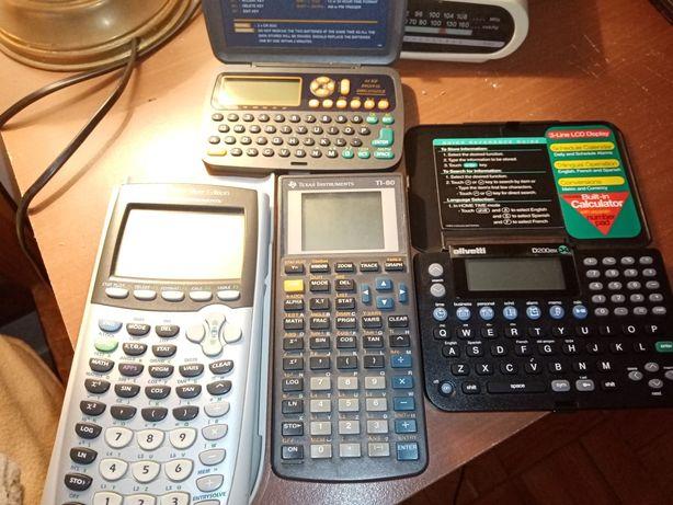 Calculadoras em bom estado