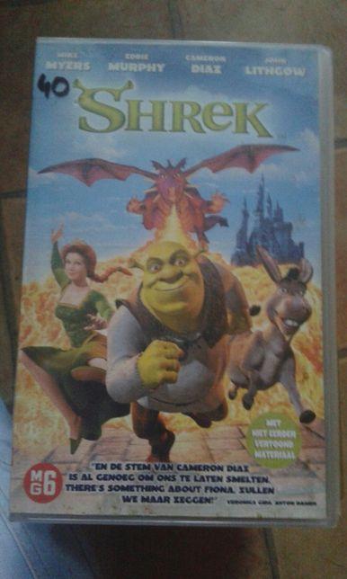 Shrek film VHS