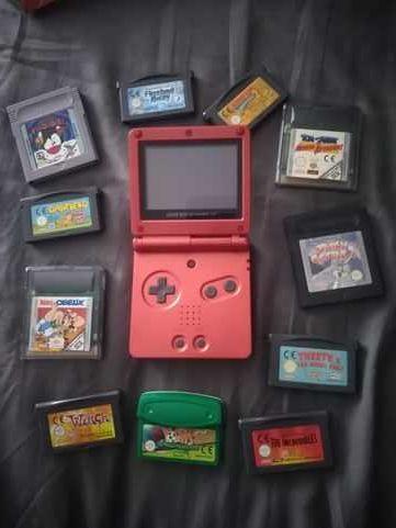 Jogos Game Boy Advance SP