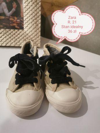 Buciki chłopięce buty Zara r. 21 sportowe stan idealny