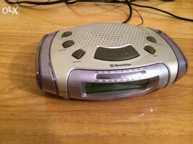 Rádio Despertador Roadster avariado
