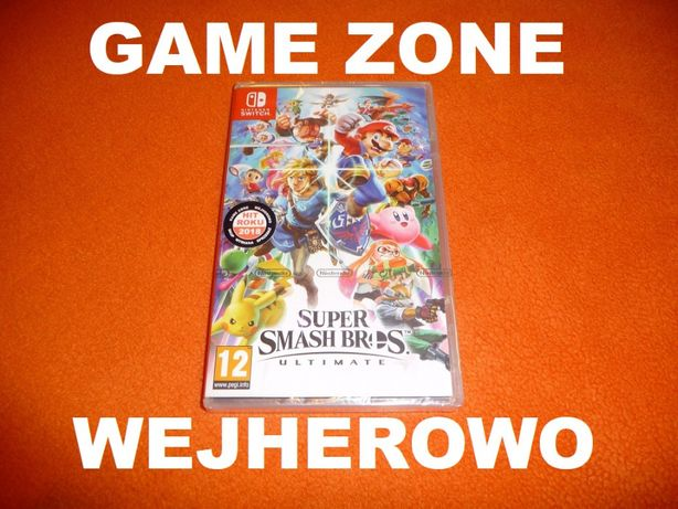 Super Smash Bros Ultimate Nintendo SWITCH = Wejherowo