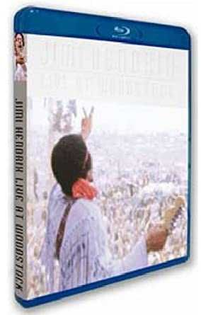 Jimi Hendrix Live At Woodstock Blu-ray