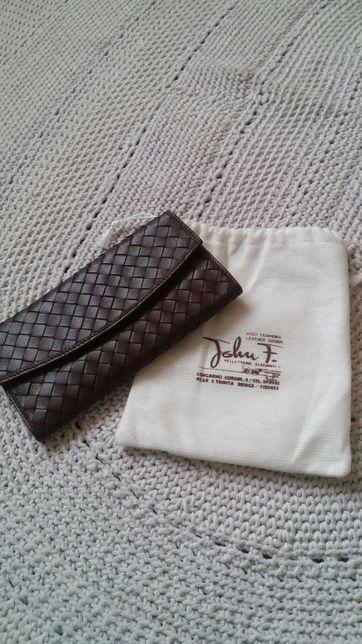 Portfel JohnF leather Florence Italy