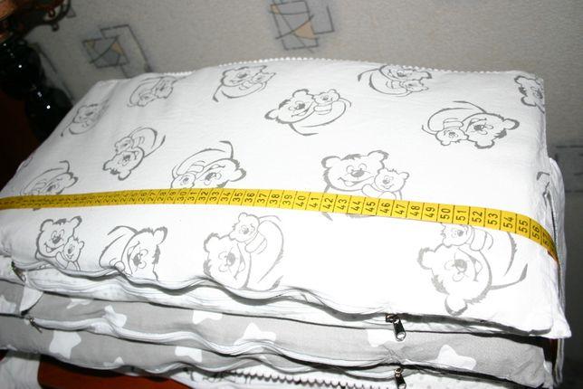 бортики барьр для кровати малыша 360х27см Хлопок 4 штуки + 2 новых