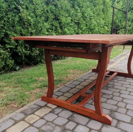 Super oferta ! Piękny rozkladany drewniany stół ogrodowy