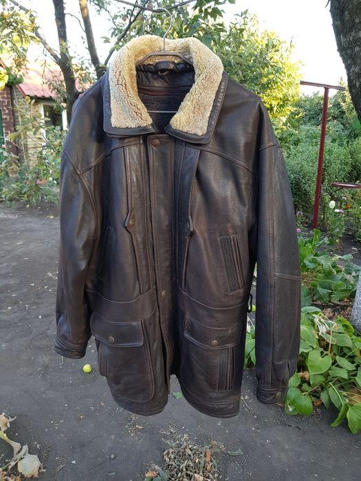 Кожаная мужская куртка Красноармейск - изображение 1
