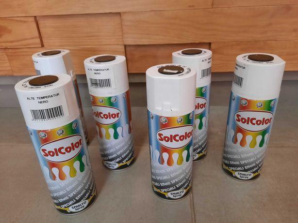 Sprays Alta Temperatura Preto - FIM STOCK