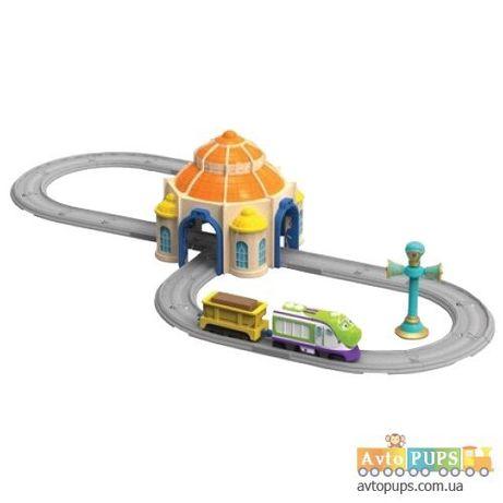 Чаггингтон Лего дорога депо гараж паровозик машинка тачки Чикко