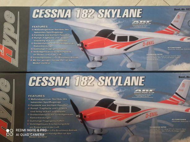 2*CESSNA 182, model, samolot RC, model zdalnie sterowany