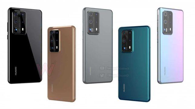 Huawei P40 Pro Plus Синий + Чехол + Защитное стекло