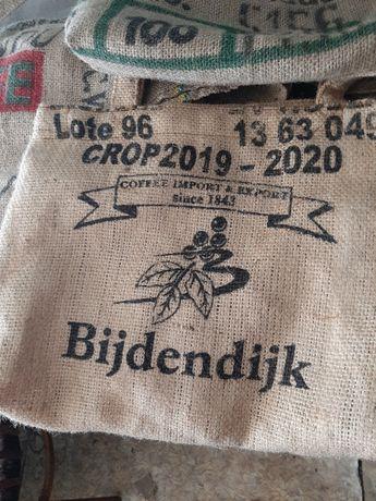 Сумка торба из кофе мешков
