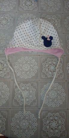 czapka niemowlęca r.74-80