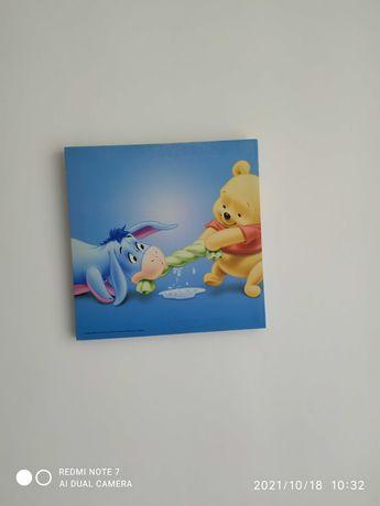 Obrazek do pokoju dziecięcego Kubuś Puchatek