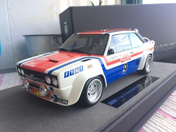 Miniatura Fiat 131 Abarth - Rally San Remo 1977  - Top Marques 1/18