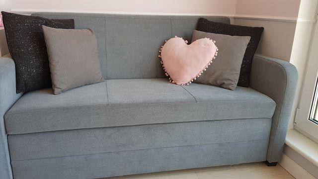 Sofa 2-osobowa rozkładana -  jak nowa!