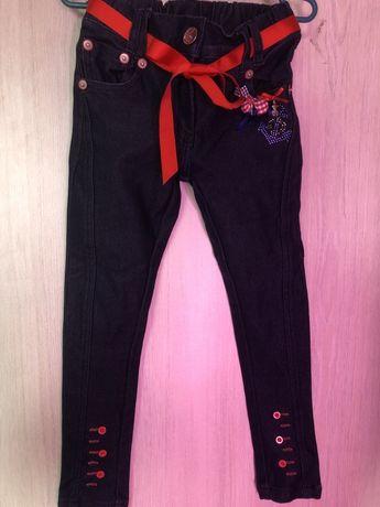 Плотные джинсы штаны скини colabear 6 лет