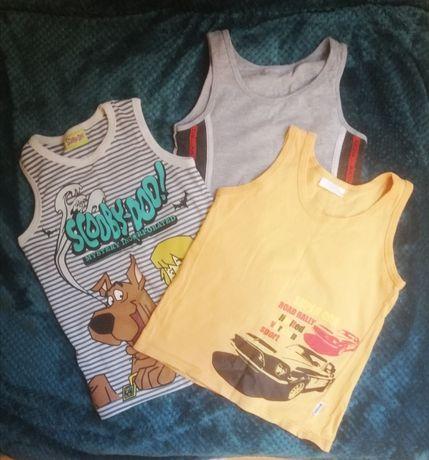 Koszulki dla chłopca 116 (3 szt.)