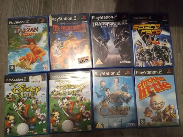 Gry PS2 Disney i inne