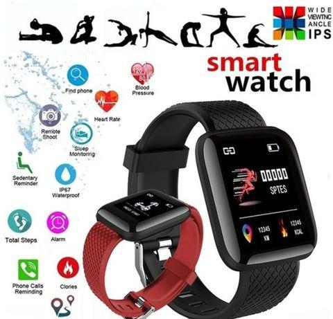 Фитнес часы браслет ID116 Plus