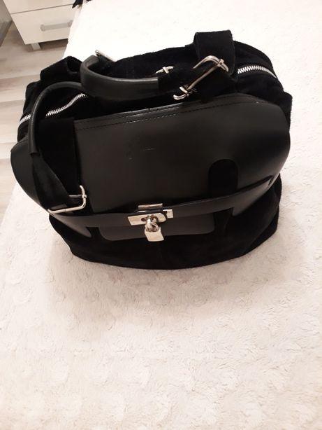 Sprzedam torbę typu worek włoska cena 110zł